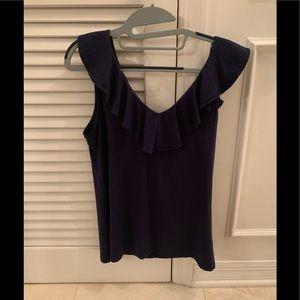 Lily Pulitzer Alyssa Ruffle tank top blouse